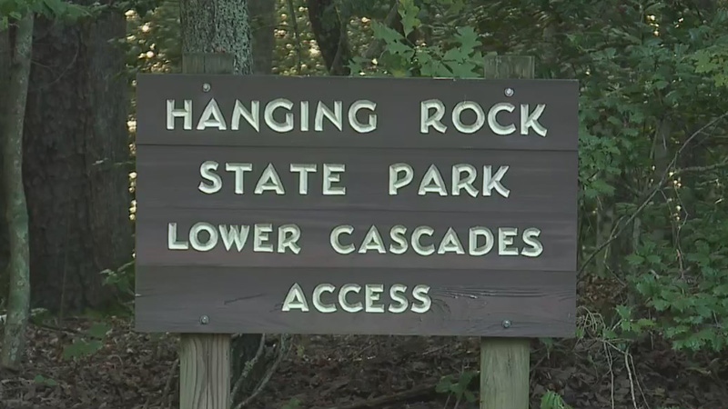 Hanging Rock State Park Lower Cascades (WGHP file photo)