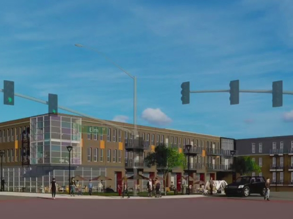 South Elm redevelopment to bring apartments, mixed use space