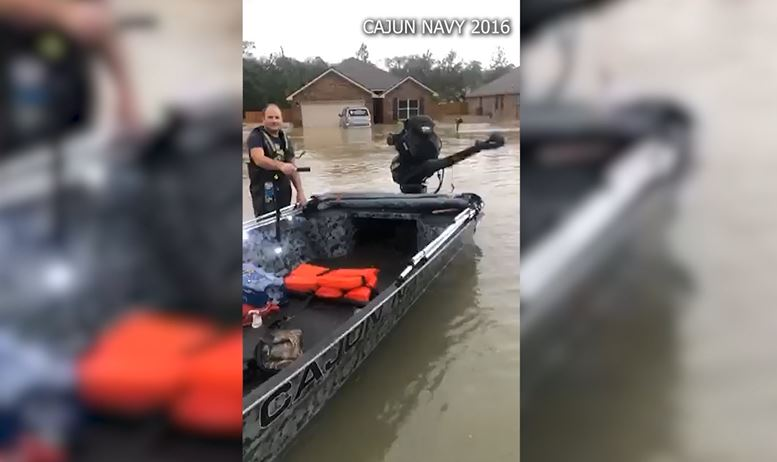 Courtesy: Cajun Navy 2016/ Facebook