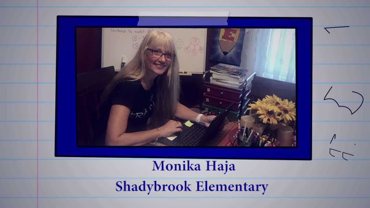 Educator of the Week: Monika Haja, Shadybrook Elementary School