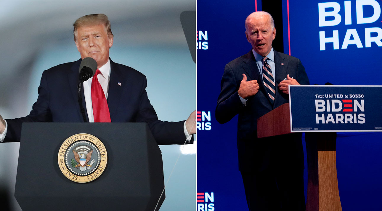 President Donald Trump and Former Vice President Joe Biden (Getty Images)
