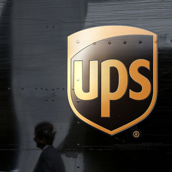 A UPS truck in San Francisco on June 17, 2014. (Justin Sullivan / Getty)