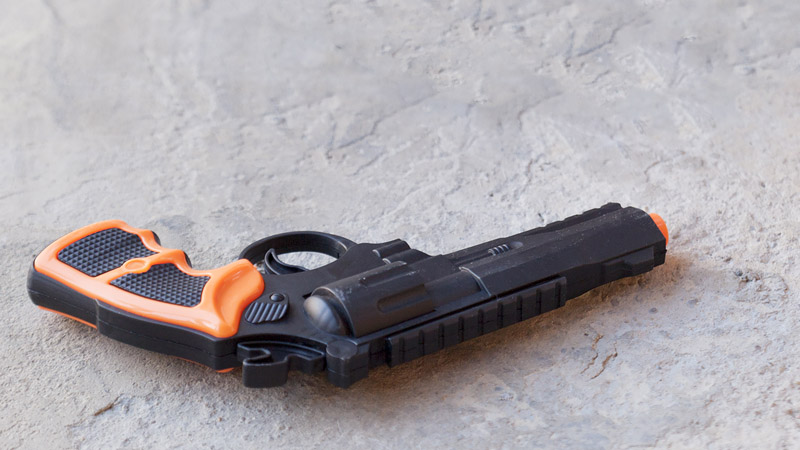 Toy gun (Stock image/Getty)