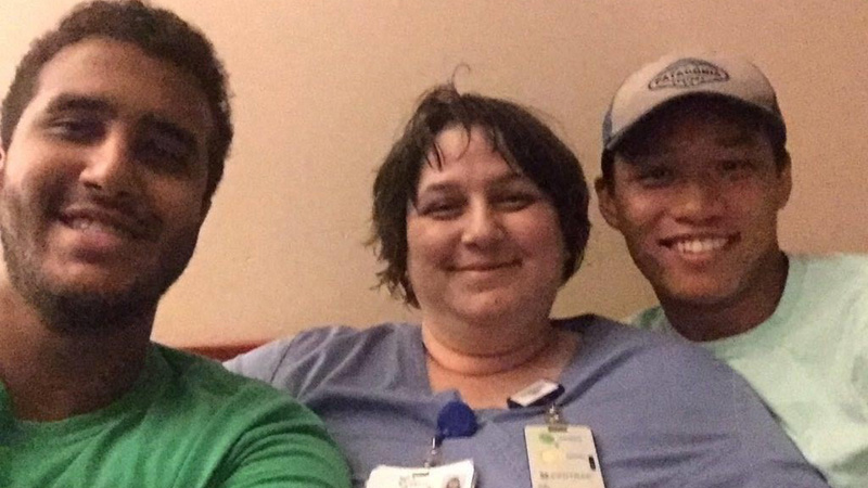 FOX8 Highlighting Heroes: Ms. Khalid, Wesley Long Emergency Room