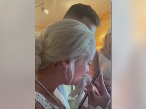 Local father fighting COVID-19 surprises daughter by attending wedding virtually