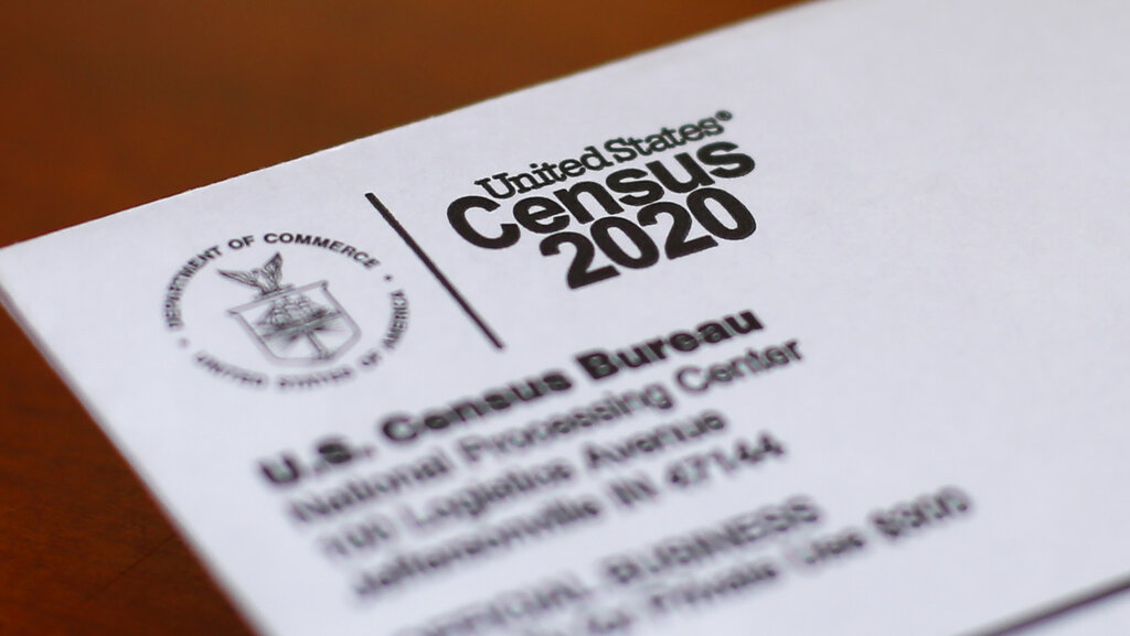 US Census (AP Photo/Paul Sancya, File)