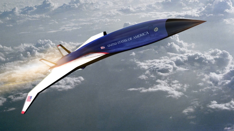 California start-up Exosonic is working on a low-boom supersonic Mach 1.8 twinjet which caught the eye of the US Air Force's Presidential and Executive Airlift Directorate (PE).