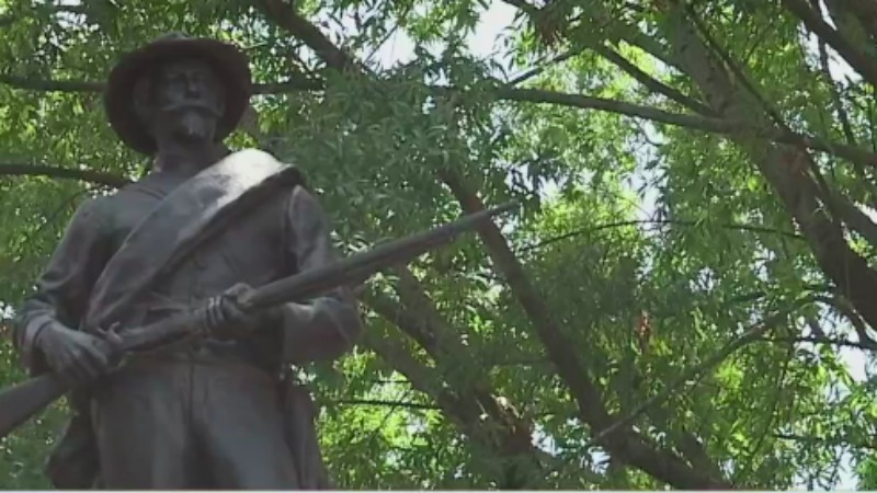 Lexington city leaders say tension is escalating over monument, are trying to relocate it as soon as possible