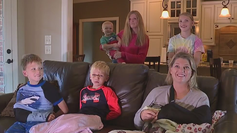 Rural Hall family talks about surviving deadly head-on crash