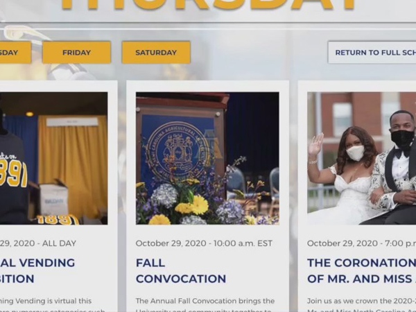 North Carolina A&T prepares for virtual homecoming
