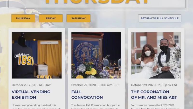 North Carolina A&T prepares for virtual homecoming