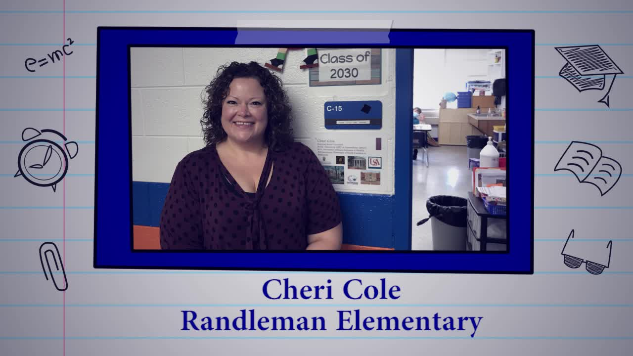 Educator of the Week: Cheri Cole