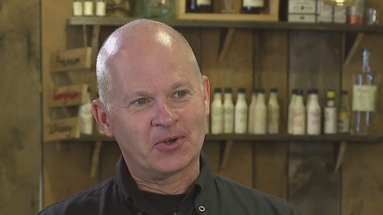 Mount Airy man opened craft distillery Mayberry Spirits after 25 years as a monk