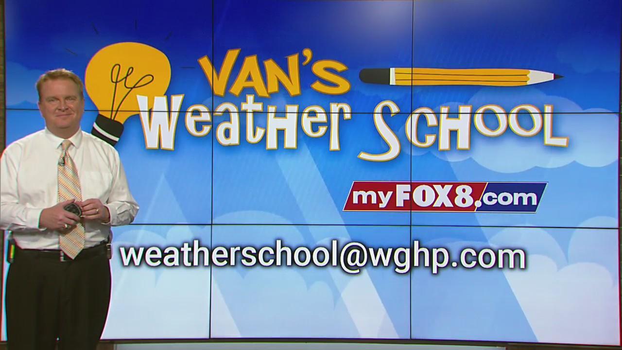 Van's Weather School: October 8 episode