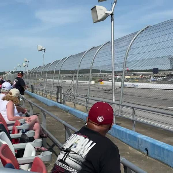 NASCAR fans excited to be back at Talladega Superspeedway