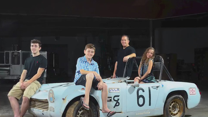High Point family restores piece of sports car racing history