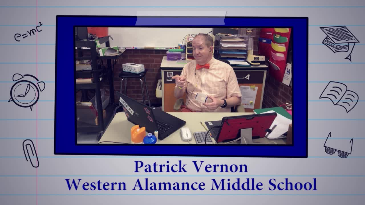 Educator of the Week: Patrick Vernon