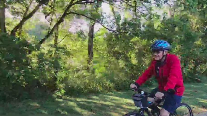 Davidson County man beats COVID-19 at 87, continues lifelong passion of riding his bike
