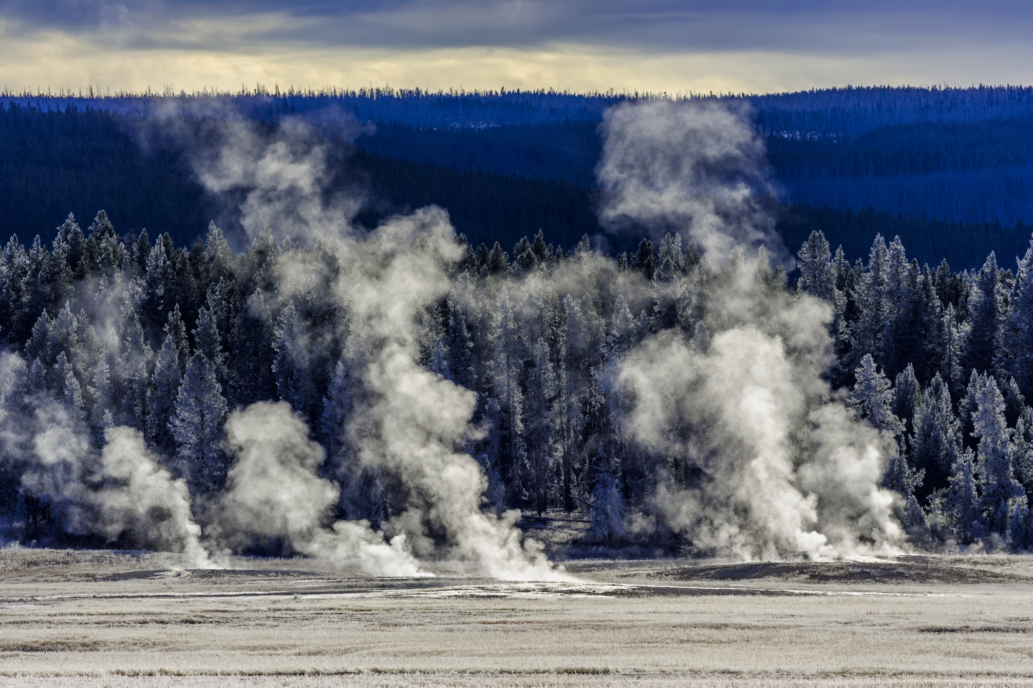 Midway Geyser Basin in Yellowstone National Park (Getty)