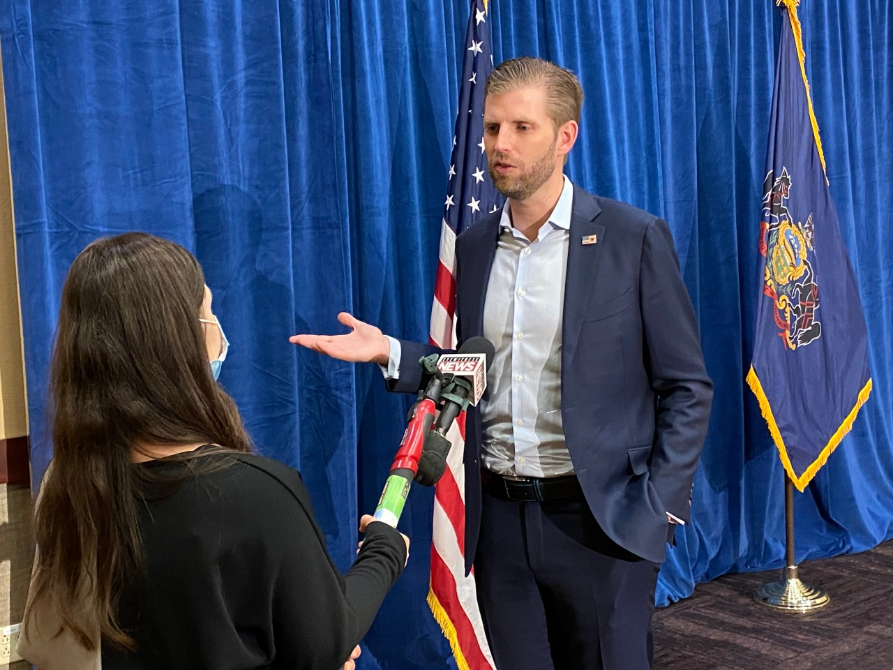 One-on-one interview with Eric Trump