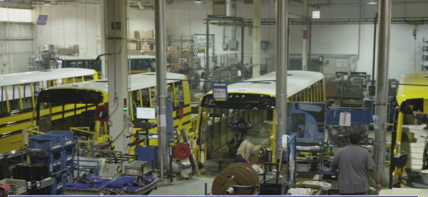 Thomas Built Buses named coolest thing made in NC