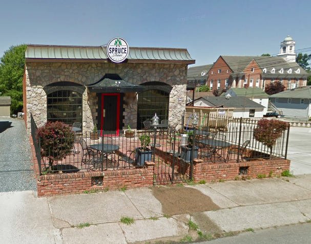The Spruce Street Garden - Craft Tavern in Winston-Salem (Google Maps)