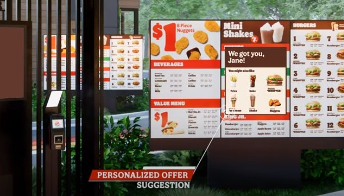 Here is how the new 'predictive selling' drive-thru will work at Burger King and Popeyes