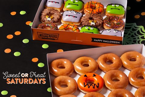 Krispy Kreme Halloween Doughnuts Promo 2020 Krispy Kreme introduces monster doughnuts just in time for