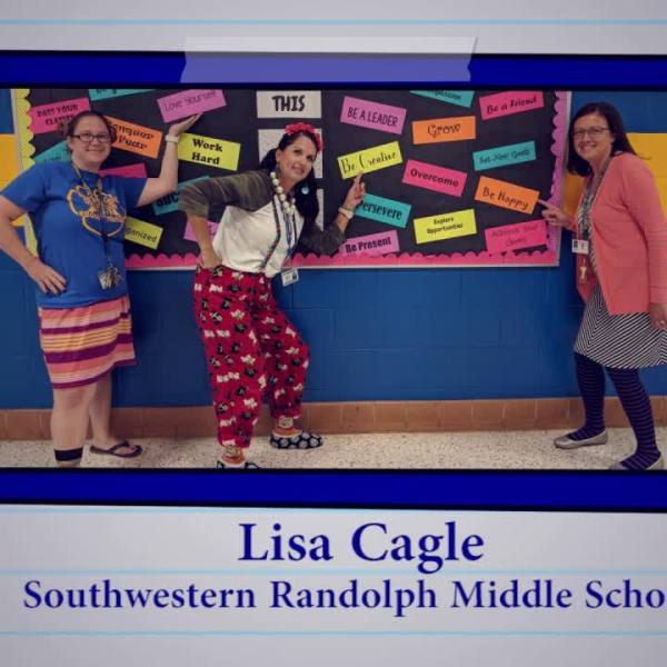 Educator of the Week: Lisa Cagle