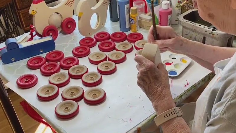 Asheboro couple makes fun folk toys