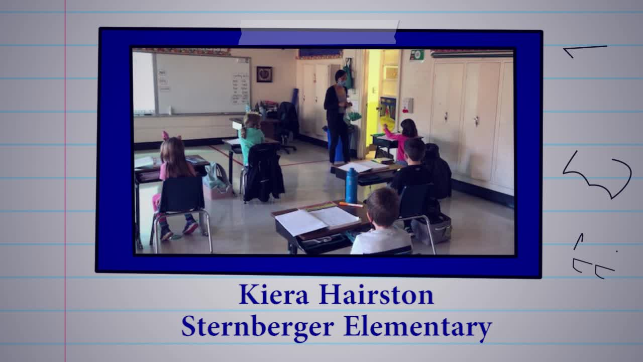 Educator of the Week: Kiera Hairston