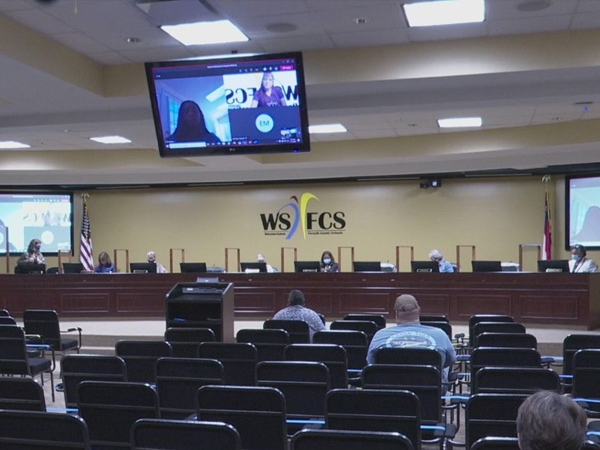 WSFC School Board tables decision on hire of superintendent search firm