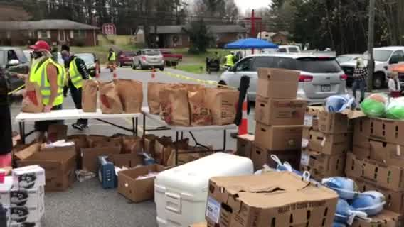 Whole Man Ministries giving away turkey, food in Winston-Salem