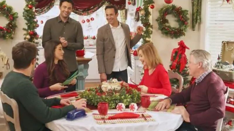 Hallmark airs channel's first Christmas movie with LGBTQ storyline