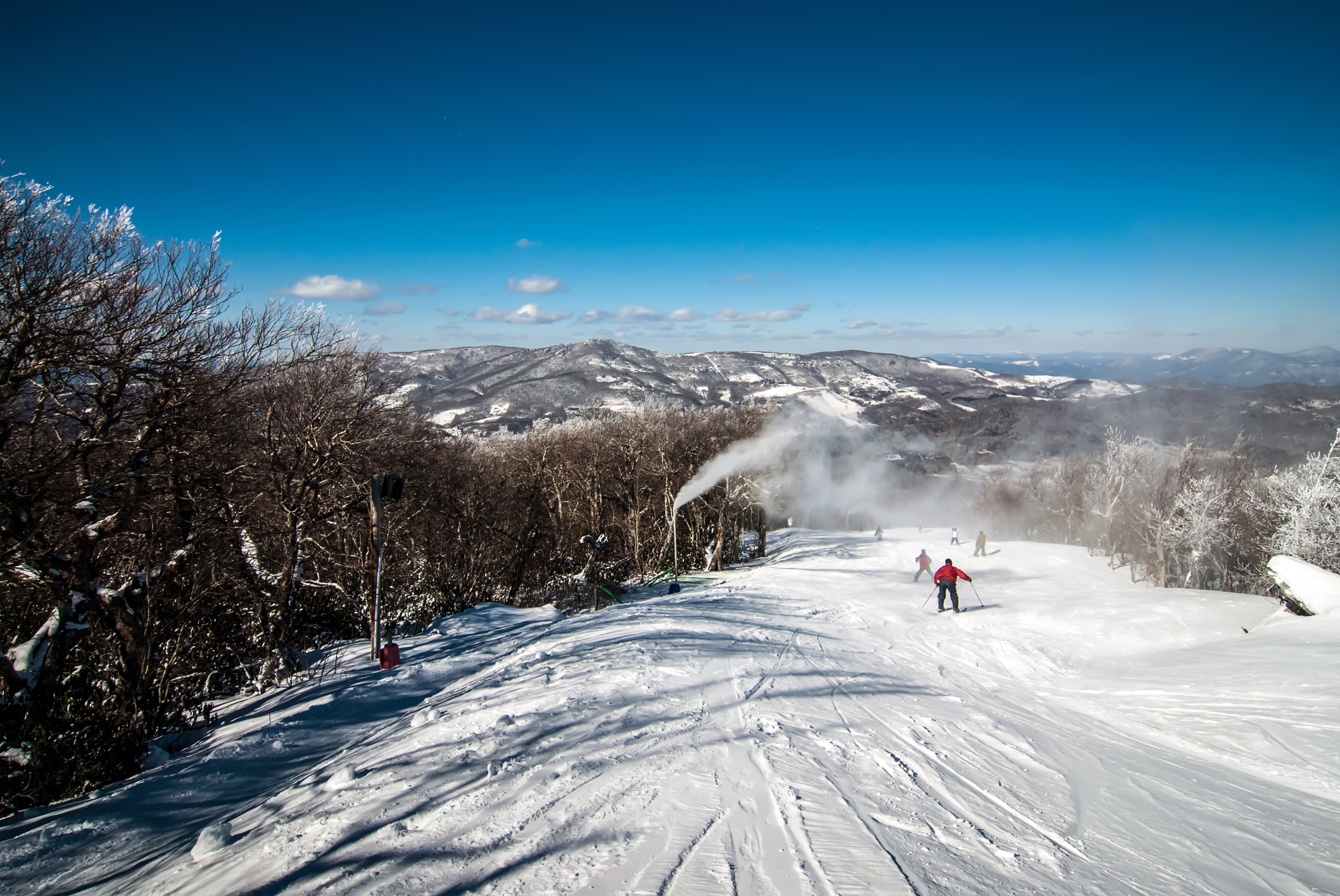 North Carolina skiing resort (Getty Images)