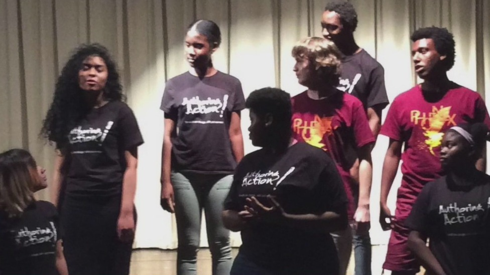 Authoring Action helps teenagers find their voices in Winston-Salem