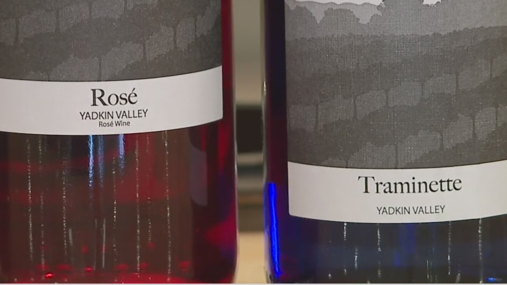 Haze Gray Vineyards creates a unique taste that's made in NC