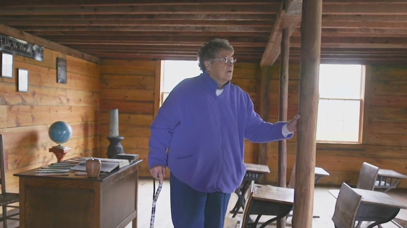 Stokes County woman saves old schoolhouse and restores it