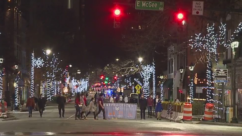 Light the Night kicks off in downtown Greensboro