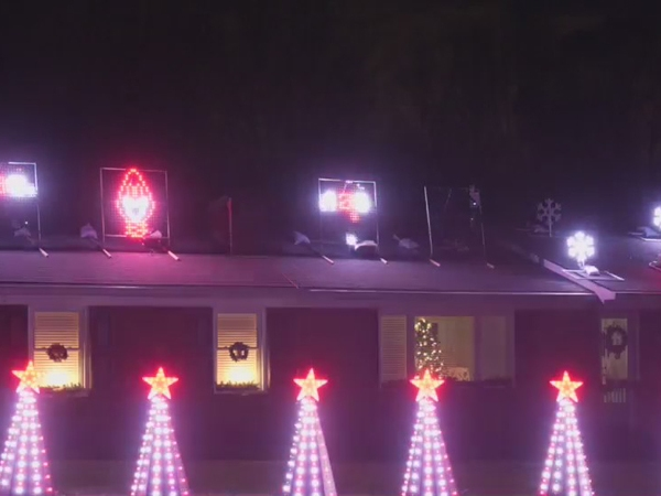 Climax family incorporates music into elaborate Christmas decorations