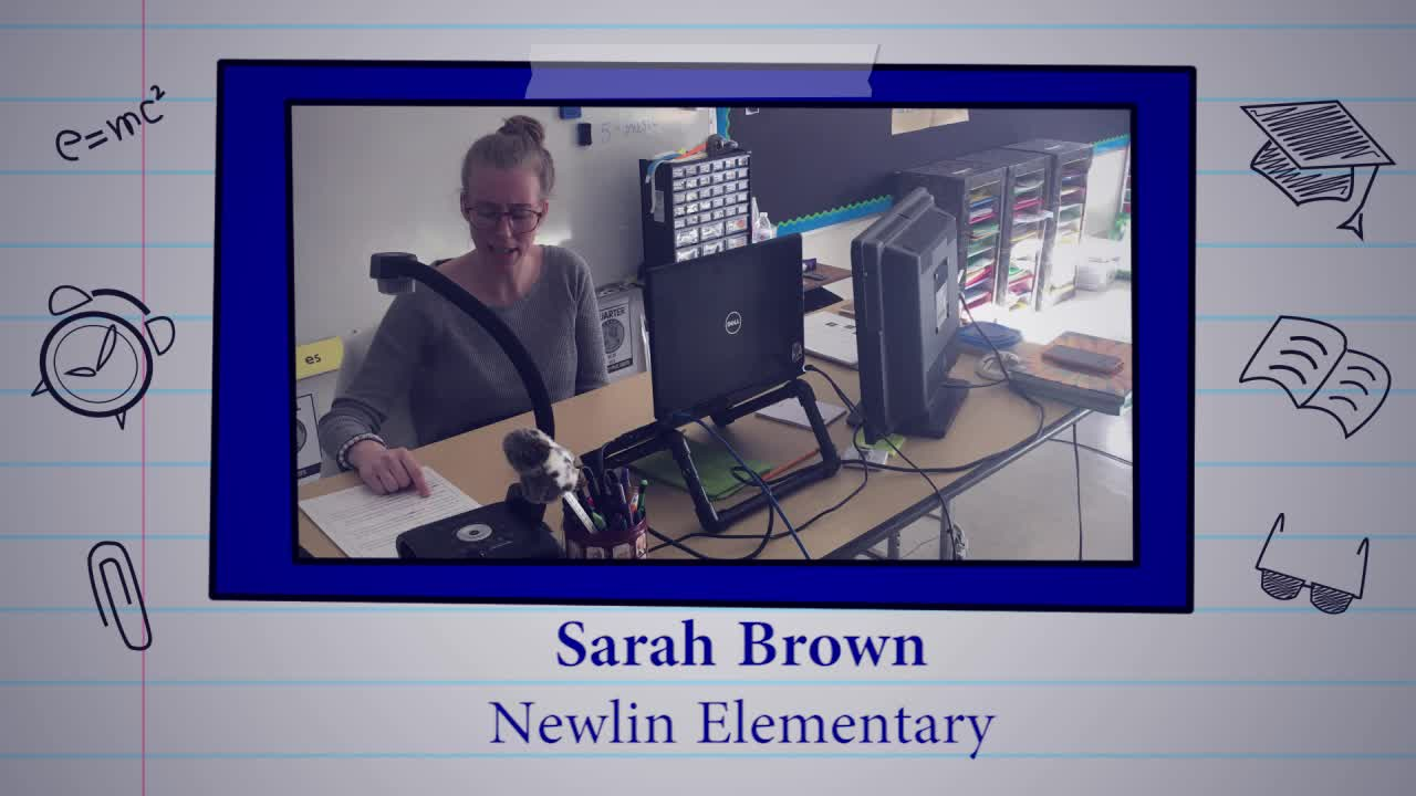 Sarah Brown is our Educator of the Week