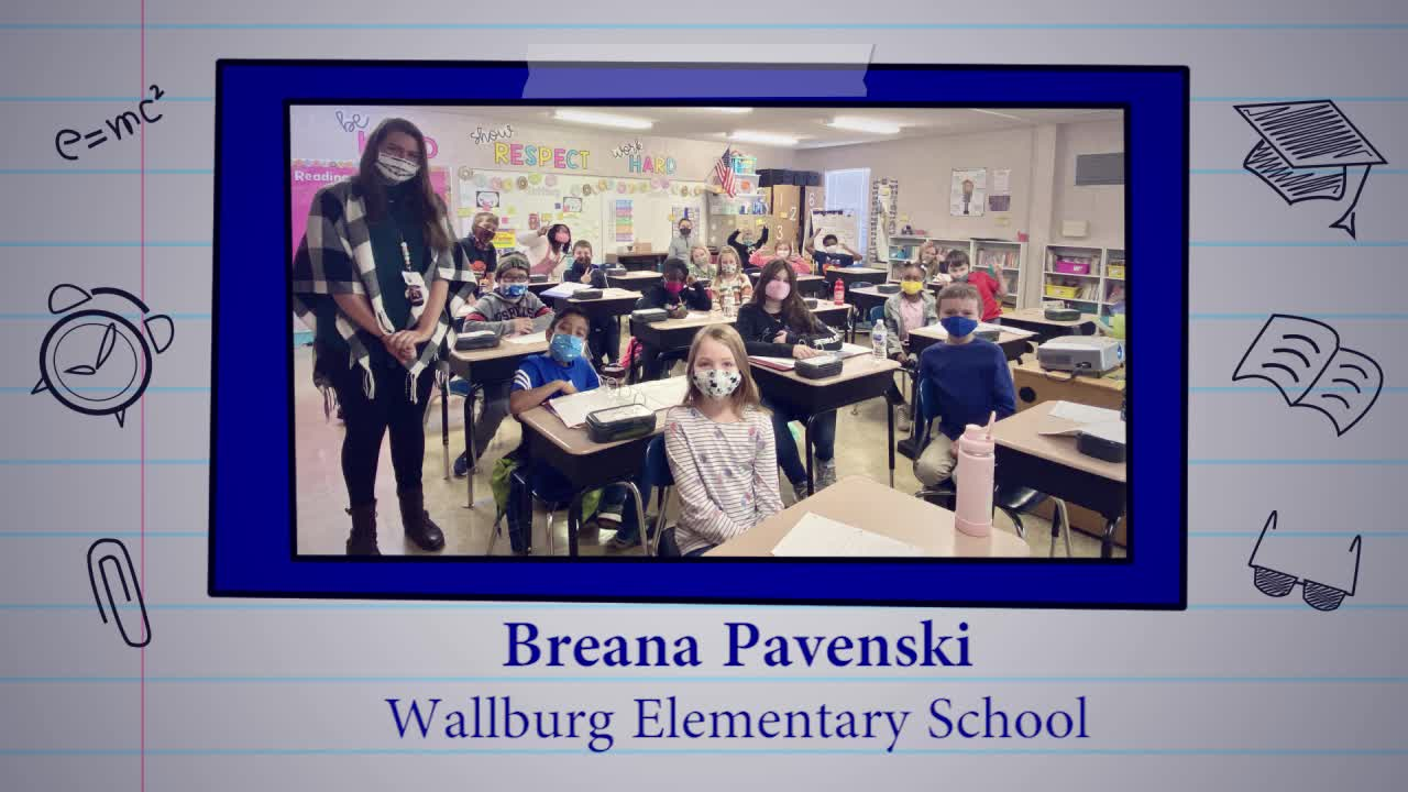 Breana Pavenski is our Educator of the Week