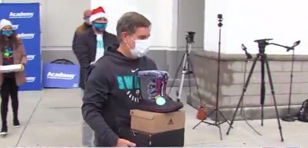 Swarm still brings holiday cheer