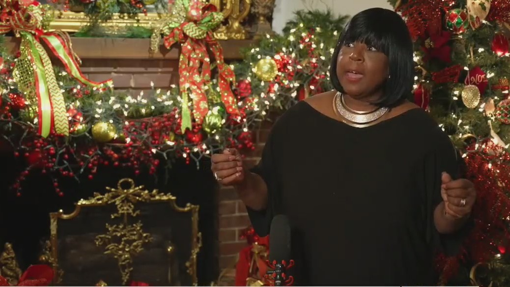 Mebane woman carries on her parents' legacy with beautiful home full of Christmas trees