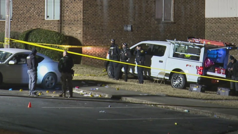 man and teen killed, 2-year-old injured in shooting at Asheboro apartment complex