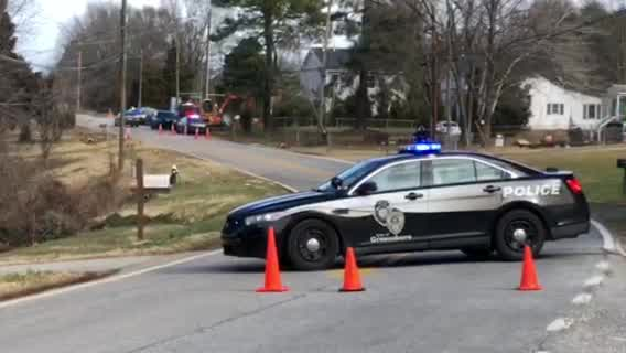 Police on scene of standoff on Summit Avenue in Greensboro