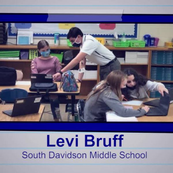 Levi Bruff is our Educator of the Week