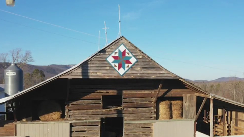 'Barn Quilt Diva' teaches others how to paint beautiful barn quilts