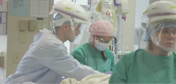 Frontline workers at Cone Health describe treating COVID patients every day