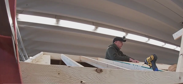 Southern Alamance High School teacher uses GoPro during carpentry class